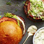 Quinoa-Mushroom Burgers